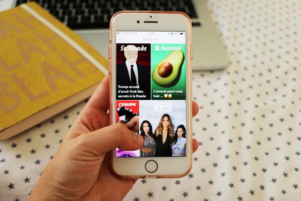 Snapchat Discover :  cap sur une audience plus jeune
