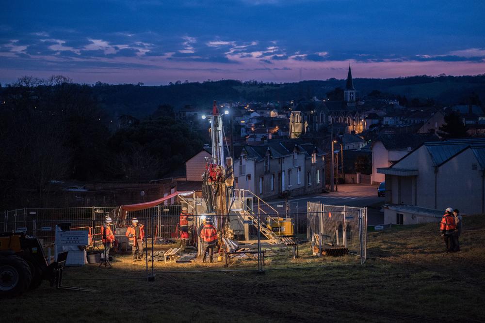 La mine, un horizon français