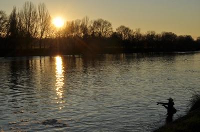Joutes fluviales sur le Cher