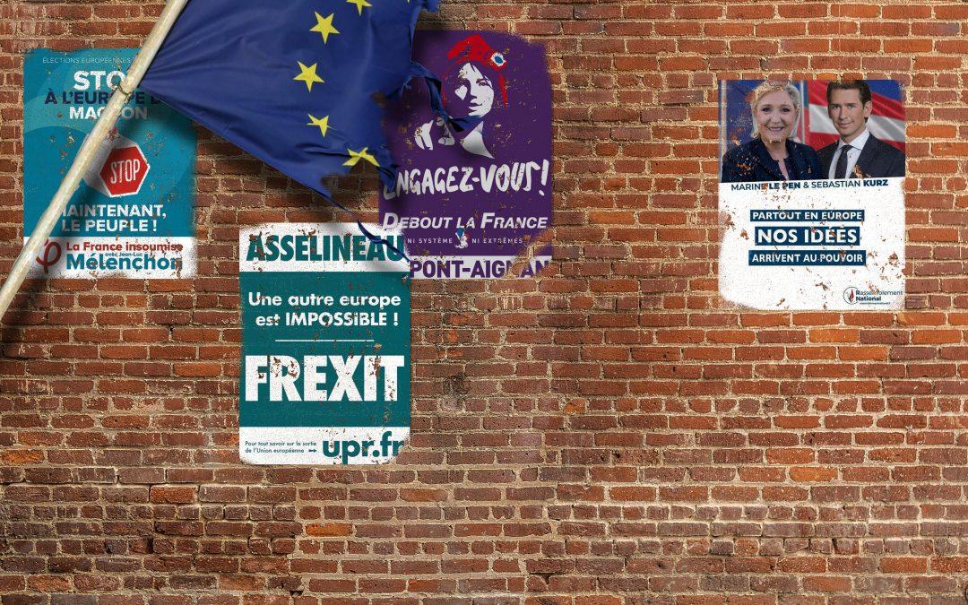 Les eurosceptiques  à la conquête de l'Europe
