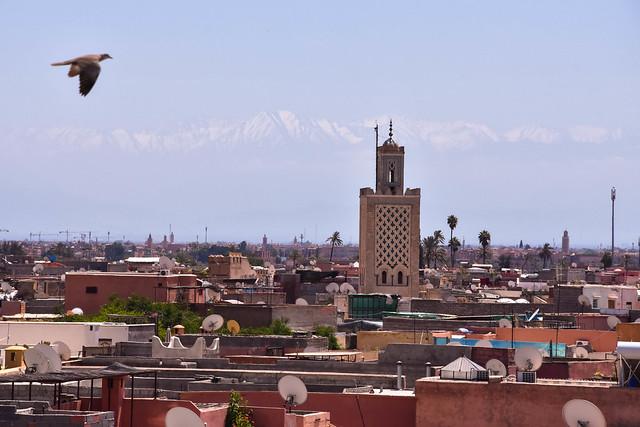 Jeunes à Marrakech