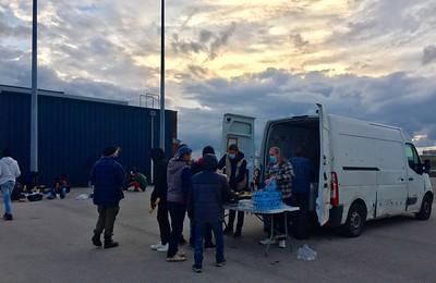 Calais, les associations en première ligne
