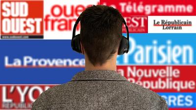 La presse quotidienne régionale, un podcast à tout prix